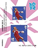 London 2012 Olympic and Paralympic Games sports Stamp and Pin Collection - HANDBALL (No.12 in a set of 30)