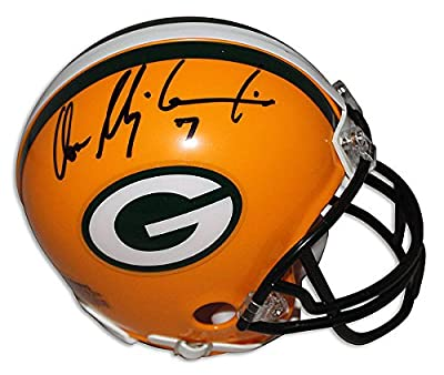 Don Majkowski Green Bay Packers Autographed Mini Helmet - Authentic Signed Autograph