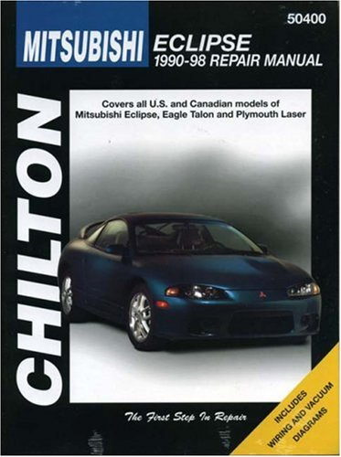 mitsubishi-eclipse-1990-98-chilton-repair-manuals