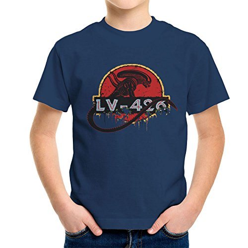Acheron LV 426 Xenomorph Alien Jurassic Park Kid's T-Shirt