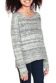 Cotton Rich Metallic Boxy Jumper [T74-2037L-S]