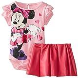 Disney Baby Baby-Girls Newborn 2 Piece Skirt Set