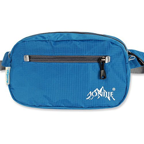 AoMagic Packable Lightweight Durable Waterproof for Running Waist Pack Blue (Roots Canada Backpack compare prices)
