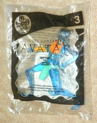 McDonald's Happy Meal Avatar Movie Neytiri Toy Figure #3 - 1