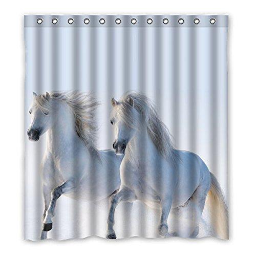 pentium-blanc-cheval-rideau-de-douche-polyester-impermssable-accueil-dsscoration-66x72-167cm-x-183cm