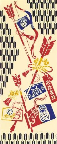 kenema-tenugui-de-mano-de-decoracion-de-la-pared-de-japon-lucky-charm-iv