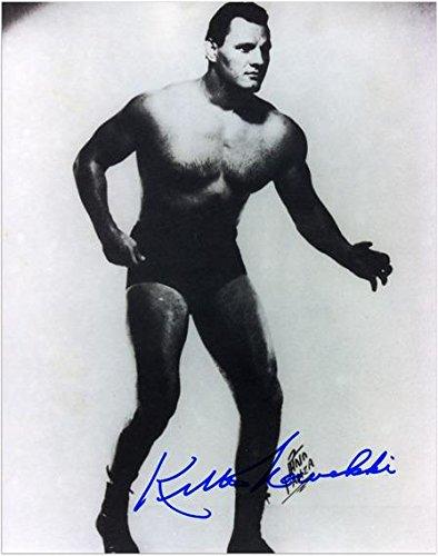 "Killer Kowalski Autographed 8"" x 10"" Black and White Photograph - Fanatics Authentic Certified - Autographed Wrestling Photos"