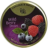 Cavendish Wild Berry Hard Candy - 5.3 Ounce Tin (Tamaño: 5.3 Ounce)