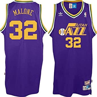 Karl Malone Utah Jazz NBA Youth Hardwood Classics Swingman Jersey by adidas