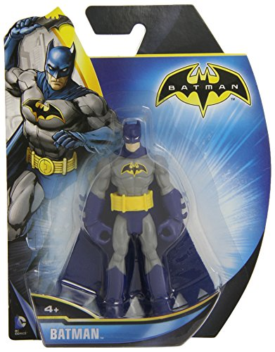 Batman Power Attack Grey Batman 4 inch Action Figure