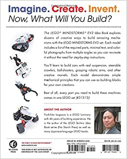 The LEGO MINDSTORMS EV3 Idea Book: 181 Simple Machines and Clever ContraptionsPaperback– November 21, 2014