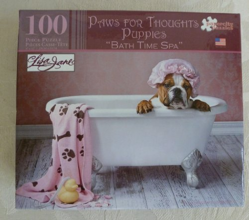 "Paws for Thoughts Puppies ""Bath Time Spa"" by Lisa Jane"