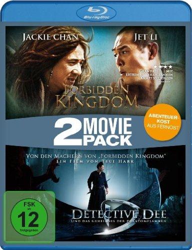Forbidden Kingdom/Detectiv Dee und das Geheimnis der Phantomflammen - 2 Movie Pack [Blu-ray]