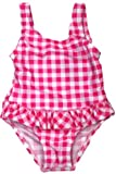 Baby Bunz Checker Baby Girls 12M, 18M, 24M One Piece Swimsuit Bathing Suit