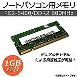 AP ノートパソコン用メモリ DDR2 PC2-64