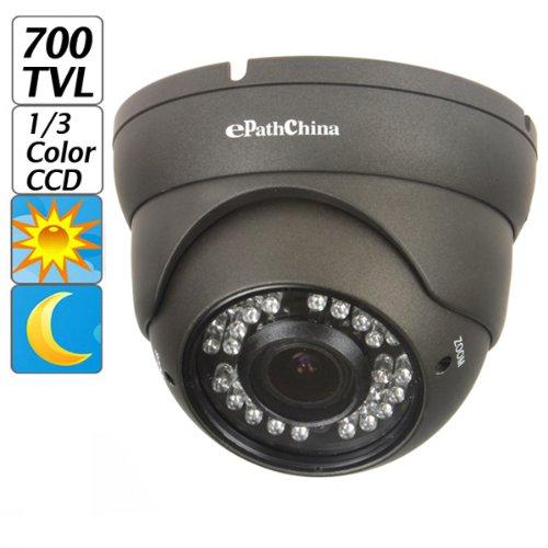"ePathChina® 700TVL 1/3"" Sony CCD 2.0 Mega Varifocal Zoom CC"