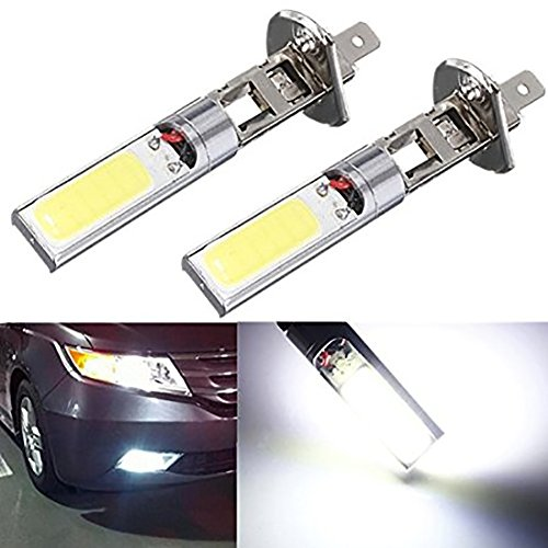 KATUR 2x H1 12V 10W H1 COB LED Car Fog Light Bulbs 6000K LED Auto Car Driving Lamp H1 Running Lights For Auto (H1 Driving Light compare prices)