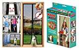 CPEX Magic Mesh Hands free Screen Net Door With Magnetic Fastening Hands Free Fly Bug Insect Screen