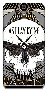 The Racoon Grip AS I LAY DYING hard plastic printed back case / cover for HTC One E9 Plus