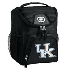 University of Kentucky Lunch Bag Insulated Lunch Cooler Black UK Wildcats Logo - Our... by Broad Bay