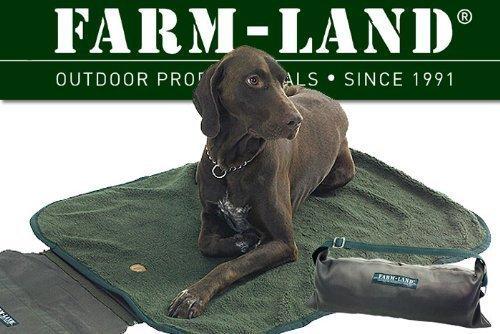 Farmland-Outdoor-Hundebett-Universaldecke-mit-Tasche