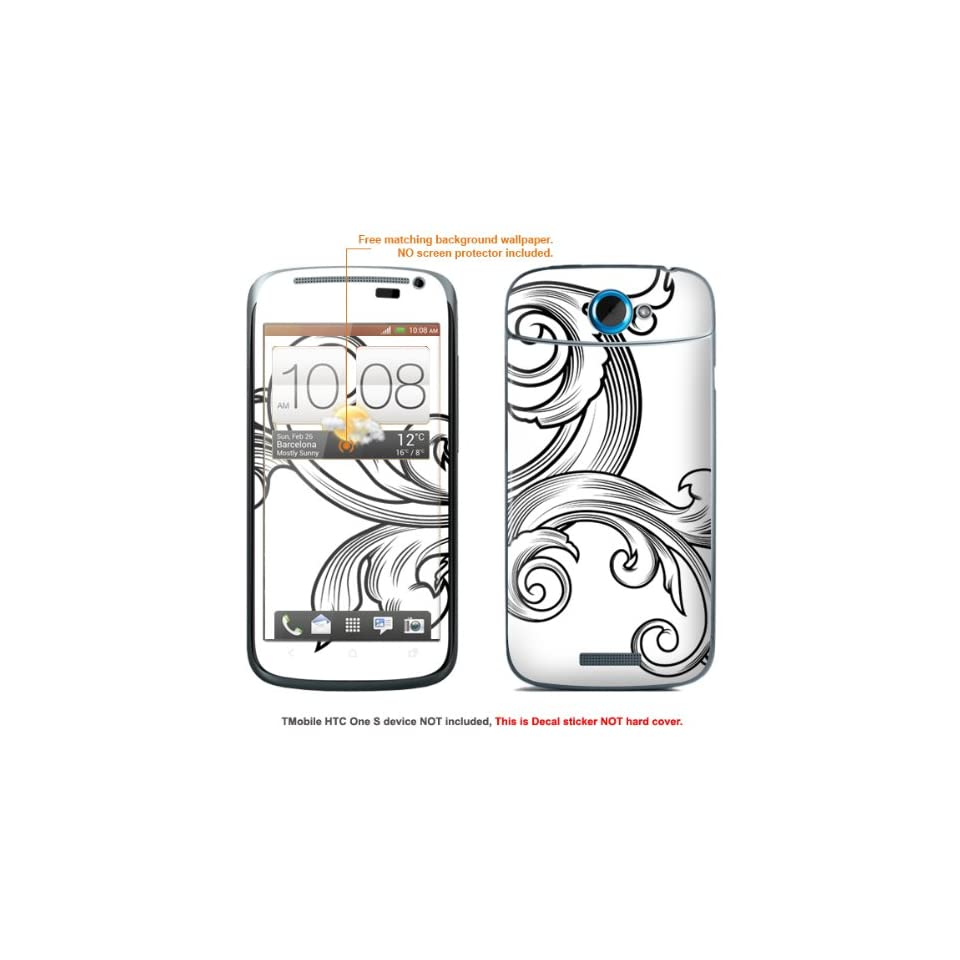 """Protective Decal Skin Sticker for T Mobile HTC ONE S """" T Mobile version"""" case cover TM_OneS 252 Electronics"""