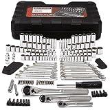 Craftsman Mechanics Tool Set Kit Wrenches Sockets Ratchet SAE Metric 165 Pc Case