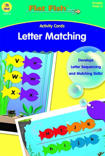 Letter Matching Activity Cards - 1