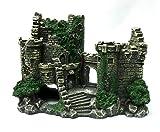 水槽飾り 古城