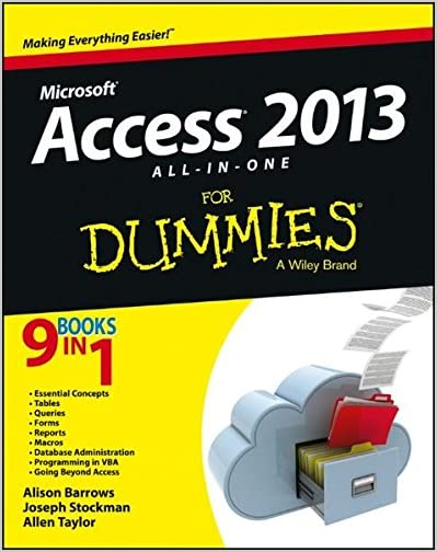 Microsoft Access 2013 all in one for Dummies