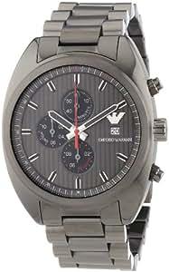 Emporio Armani Herren-Armbanduhr XL Chronograph Quarz Edelstahl beschichtet AR5913