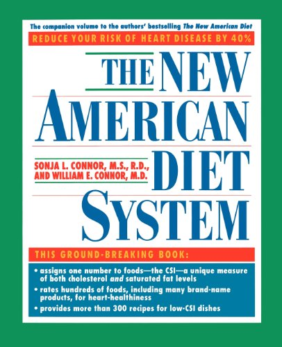 The New American Diet System by Sonja L. Conner, William E. Conner