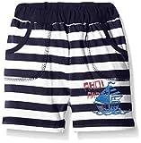 SALT AND PEPPER B Bermuda Ahoi stripe-short Bebé-Niñas    azul (navy 460) 3 mes