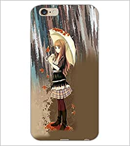 PrintDhaba Cute Angel D-5032 Back Case Cover for APPLE IPHONE 6 PLUS (Multi-Coloured)