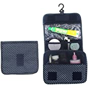 Itraveller Portable Hanging Toiletry Bag/ Portable Travel Organizer Cosmetic Bag For Women Makeup Or Men Shaving...