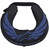 Alpinestars Neck Roll Adult Neck Brace Motocross Motorcycle Body Armor - Black/Blue / One Size
