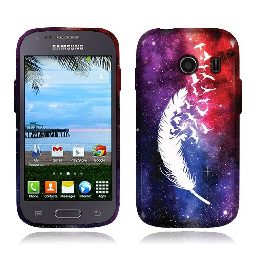 Nextkin Samsung Galaxy Ace Style S765C Silicone Skin TPU Gel Cover Case - Birds Of A Feather (Galaxy Ace Style Silicone Case compare prices)
