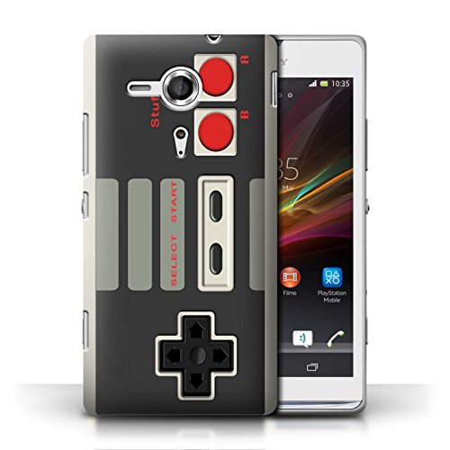 Stuff4 Phone Case / Cover For Sony Xperia Sp/C5303 / Nintendo Classic Design / Games Console Collection