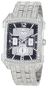 Bulova Men's 96C108 Crystal Striking Visual Design Watch