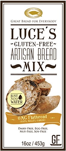 Luce's Gluten-Free Artisan Bread OMG Flatbread mix (Naan Mix compare prices)