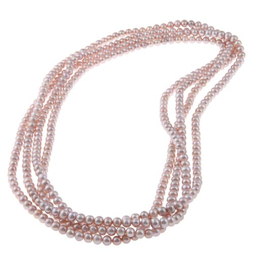 DaVonna Freshwater Pearl 100-inch Endless-style Necklace