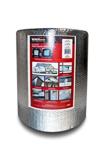 Reach Barrier Dd24125 Air Double Reflective Polyethylene Insulation Roll, 2-Feet By 125-Feet