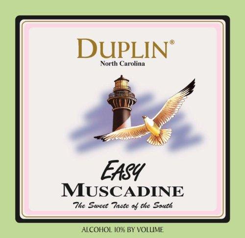 Nv Duplin Wine Cellars Easy North Carolina Muscadine 750 Ml
