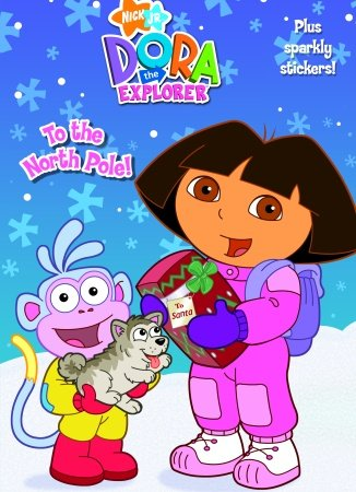 Nickelodeon Dora The Explorer To the North Pole! Activity Sticker Book - 1