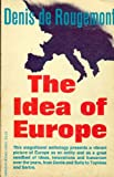 img - for THE IDEA OF EUROPE book / textbook / text book
