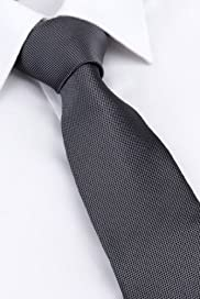Machine Washable Textured Tie [T12-8112-S]