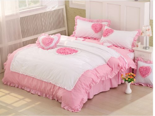 Queen Size Princess Bedding 5955 back