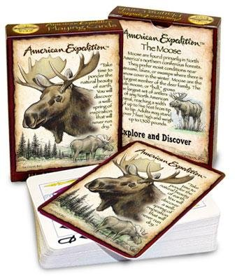Wildlife Playing Cards (Moose) - 1