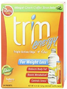 Healthy To Go, Trim Energy,Teaberry flavor, 24 Packets, 4.35 -Oz Box by To Go Brands