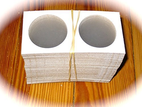 100 Ct. Premium BCW Cardboard Coin Holders Flips For Pre-1979 Silver Dollars